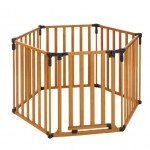 North States Industries Superyard 3 in 1 Wood Gate – Questions & Answers