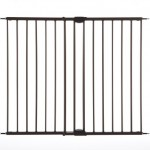 North States Industries Supergate Easy Swing and Lock Metal Gate, Matte Bronze – Questions & Answers