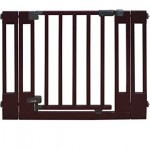 Summer Infant Multi-Use Deluxe Wood Walk-Thru Gate, Dark Cherry – Questions & Answers