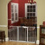 Regalo Extra WideSpan Walk Through Safety Gate, White – Reviews, Questions & Answers