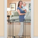 Summer Infant Multi-Use Deco Extra Tall Walk-Thru Gate, Bronze – Questions & Answers