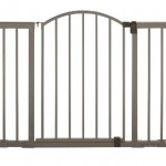 Summer Infant Metal Expansion Gate, 6 Foot Wide Extra Tall Walk-Thru, Bronze – Questions & Answers