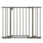 North States Industries Supergate Easy Close Metal Gate, Burnished Steel – Questions & Answers