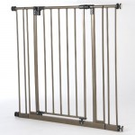 North States Industries Supergate Extra Tall Easy Close Metal Gate, Bronze – Questions & Answers