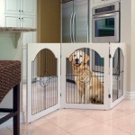 Majestic Pet Universal Free Standing Wire Insert Pet Gate, White – Questions & Answers