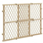 Evenflo Position and Lock Wood Gate, Tan – Questions & Answers