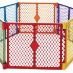 North States Industries Superyard Play Yard, Colorplay, 6 Panel – Questions & Answers