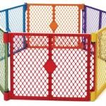 North States Industries Superyard Play Yard Colorplay 6