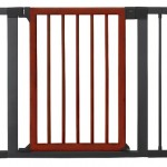Munchkin Wood and Steel Designer Gate, Dark Wood/Silver – Questions & Answers