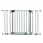Dream Baby Swing Close Security Gate (with extensions included) – Sliver – Questions & Answers