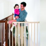 Evenflo, Top of Stairs, Extra Tall Gate, Hardware Mounted – Questions & Answers