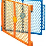 North States Industries Superyard Play Yard Colorplay 2 Panel Extension Kit, Orange/Blue – Reviews, Questions & Answers